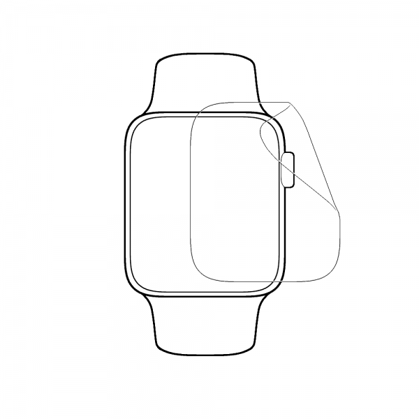 Protector Pantalla Apple Watch Serie 3 42mm Hydrogel Mejor Protector