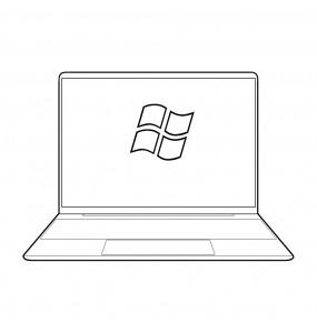Instalacion sistema operativo windows en ordenador Panasonic portátil y sobremesa en Málaga