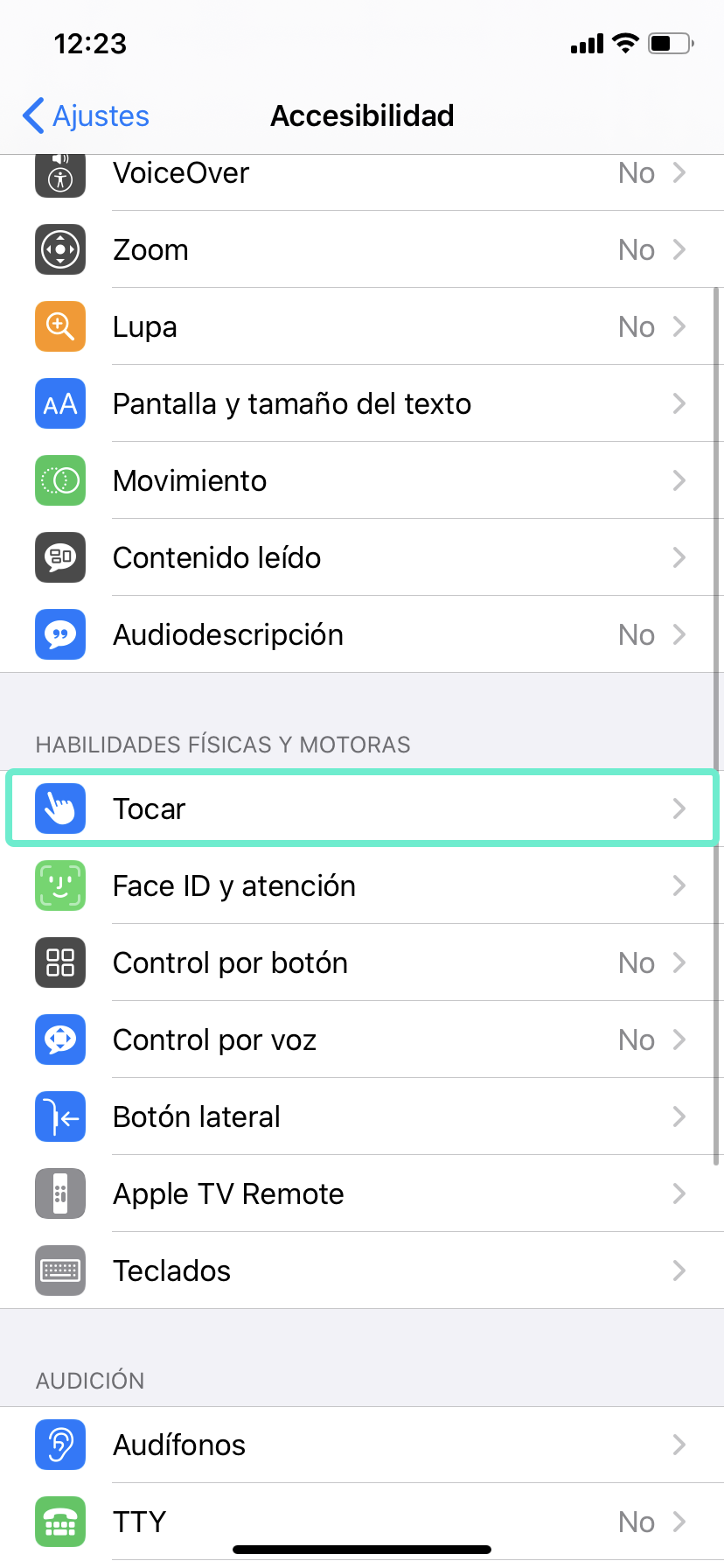 Acceder tocar apple iphone rim mobile