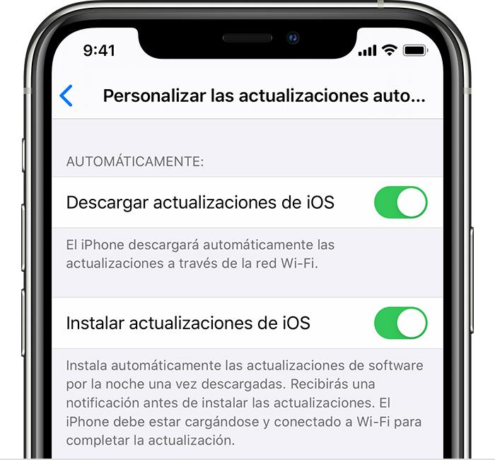 actualizar iPhone rim mobile